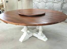 s 84 inch round table wood top