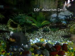 concrete aquarium decor