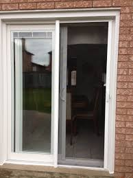 odl brisa white aluminum retractable screen door sliding screen doors mirage screen doors costco clearview retractable screens warranty