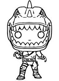 Disegno Da Colorare Funko Pop Fortnite Rex 3