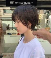 ショートヘアカタログ紺野 善仙さんのインスタグラム写真 ショート