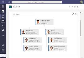 Plumsail Org Chart Org Chart Tab For Microsoft Teams With Assistants Dotted