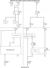 Chevyer wiring diagram schematic fuel pump trailer 2002 chevy blazer radio headlight alternator 800