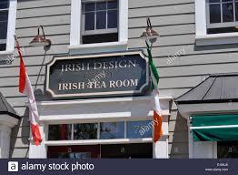 Irish Design Shop Niagara On The Lake Irish Tea Room Stock Photos Irish Tea Room Stock Images