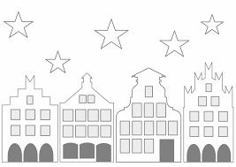 Historisches Städtchen Zum Ausdrucken Fensterbilder
