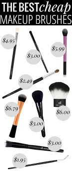 the best makeup brushes every brush you ll need all for under 10 and most under 5