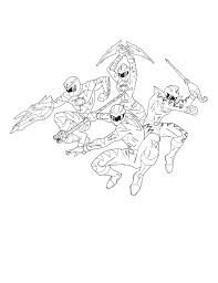 Small Picture Four Power Rangers Dino Thunder Coloring Pages Baby Pinterest