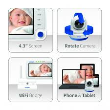 Luvion Supreme Connect Video & WiFi Baby Monitor at BabySecurity