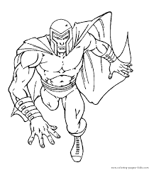 Small Picture X Men color page Coloring pages for kids Cartoon characters