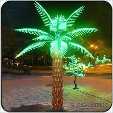 led manufacturer outdoor lighted palm tree