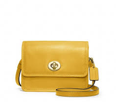 We re obsessed with this simple yet chic Coach mini crossbody bag ( 128)