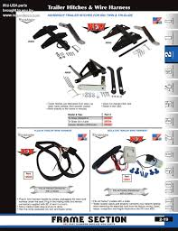 discount trailer hitches and harnesses from mid usa for harley click on part numbers below each catalog page to add items to your cart view cart
