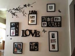 Ideas For Hanging Pictures On Wall Without Frames  Walls Ideas