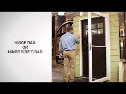 identifying the parts of andersen self storing storm doors andersen windows you