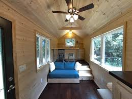 Designing a tiny house Curbed Loftless 160 Sq Ft Tiny House For People Who Hate Climbing Treehugger Home Design And Decor Ideas Loftless 160 Sq Ft Tiny House For People Who Hate Climbing
