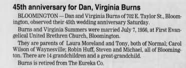 Marvin D. Burns And Virginia Summers-Burns. - Newspapers.com