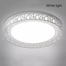 ⭐Đèn Trần LED Hình Tròn Đèn Chiếu Sáng Tổ Chim Hiện Đại Cho Phòng Khách  Phòng Ngủ Nhà Bếp: Mua bán trực tuyến Đèn LED với giá rẻ