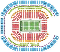Cougar Stadium Seating Chart 59 Most Popular Tom Benson Hall Of Fame Stadium Seating Chart