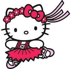 Free, printable hello kitty coloring pages, party invitations, printables and paper crafts for hello kitty fans the world over! Hello Kitty Ballerina Embroidery Design Hello Kitty Dance Embroidery Design Hello Kitty Coloring Hello Kitty Printables Hello Kitty Colouring Pages