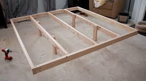diy king platform bed frame. Glitter And Goat Cheese DIY King Sized Wood Platform Bed Pertaining To Frame Designs 18 Diy