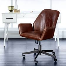 west elm office chair. West Elm Office Chair. Aluna Leather Chair O