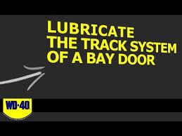 how to lubricate a garage doorHow To Lubricate A Garage Door  WD40 Video Tips