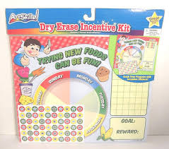 Trying New Foods Chart Dry Erase Incentive Chart Trying New Foods Can Be Fun Motivate Reward Behavior Ebay