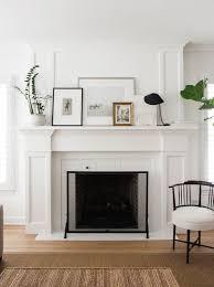 mantel styling fireplace resurfacingwhite
