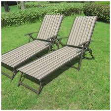 lounge chairs for patio. Cozy Patio Recliner For Your Outdoor Chair Design: Set Of Two Lounge Chairs A