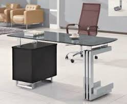 glass office table. competitive price executive glass office table with 3 drawers hxgl026