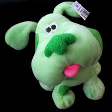 blues clues green puppy plush. NWT 2000 Blue\u0027s Clues Green Puppy Dog Plush Stuffed Animal Paramount Parks #Viacom Blues E