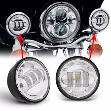 4 1 2 Inch Led Driving Lights Harley Auxiliary Lights Pogot Bietthunghiduong Co