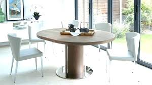 modern dining table extendable modern round dining set for 6 modern round dining set for 6