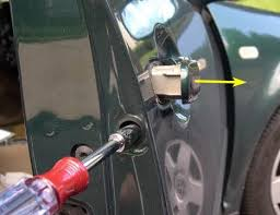 octavia 1 replacing door latch microswitch 1 car door wont lock