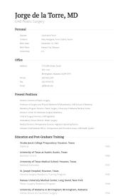 Plastic Surgeon Resume Samples Visualcv Resume Samples Database