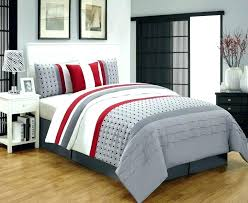 red and blue check duvet covers white bedding gray bedroom set bed cream sets twin size