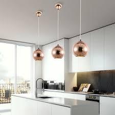 Mirrea Modern Kitchen Island Lighting Mini Globe Pendant