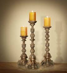 formidable candle holders for tall candles images design large pillar set of carved style