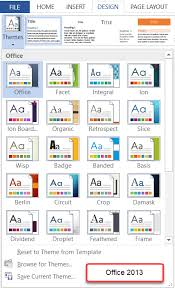 Access 2013 Themes Download Understanding Styles In Microsoft Word A Tutorial In The