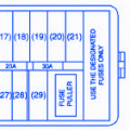 suzuki xl x dash fuse box block circuit breaker diagram suzuki aerio 2006 under the dash fuse box block circuit breaker diagram