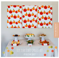 today we want to show you how easy it can be and inexpensive of course to create your own stretched canvas artwork in our example you see that we used