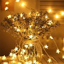 Garden <b>LED String</b> Lights 100 Star Long Fairy Outdoor Lighting ...