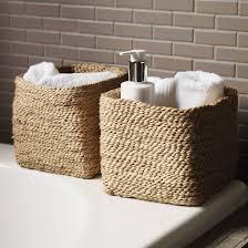 bathroom baskets. astounding bathroom baskets 2 storage ideas pinterest o