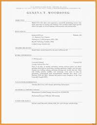 Types Of Bio Data Template Good Resume Templates Word Blank Resume Template