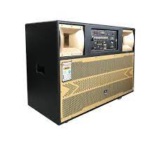 Dàn loa Bluetooth 4 tấc đôi, Loa kéo karaoke di động YA.MA.HA BD4OOOW, Bộ  loa di động đa năng công suất khủng.