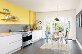 how to decorate open plan kitchen