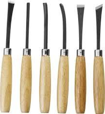 <b>Резцы фигурные</b> с деревянной ручкой <b>6шт Stayer</b> 1832-H6, 1832 ...