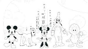 Coloring Pages Mickey Mouse Clubhouse Printable Coloring Pages