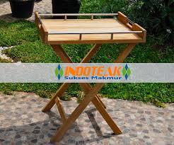 teak butler tray table manufacturer indonesia