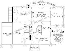 Basement Designs Plans Inspiration Walkers Cottage House Plan 48 Basement European French